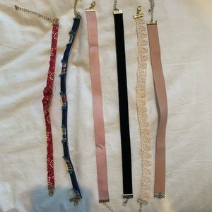 Jewelry - Miscellaneous pack of choker necklaces